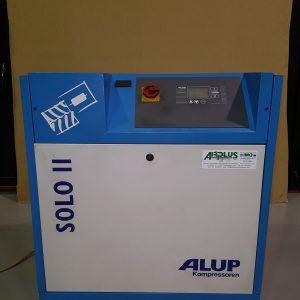 Compressore a vite a velocità variabile ALUP SOLO 11KW 15HP usato interamente revisionato