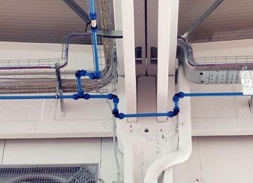 Realizzazione impianti aria compressa